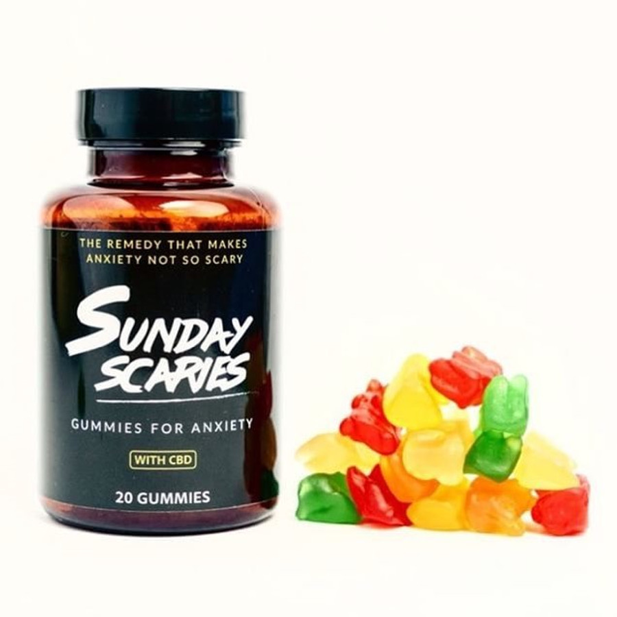 SUNDAY SCARIES GUMMIES FOR ANXIETY