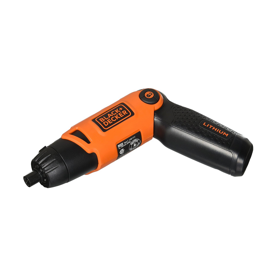 Multi-Positional Rechargeable Electric Screwdriver
