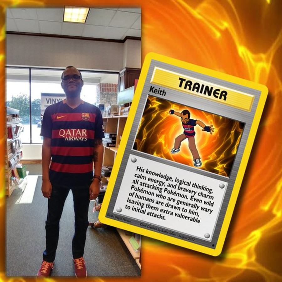 Custom Pokémon Trainer Card