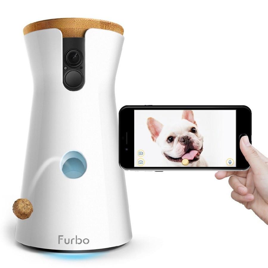 FURBO DOG CAMERA AND FEEDER