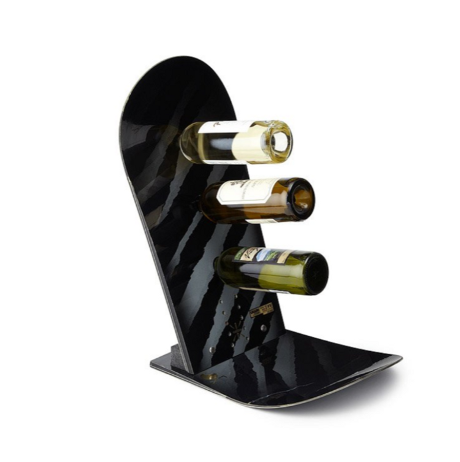 SNOWBOARD WINE BOTTLE RACK
