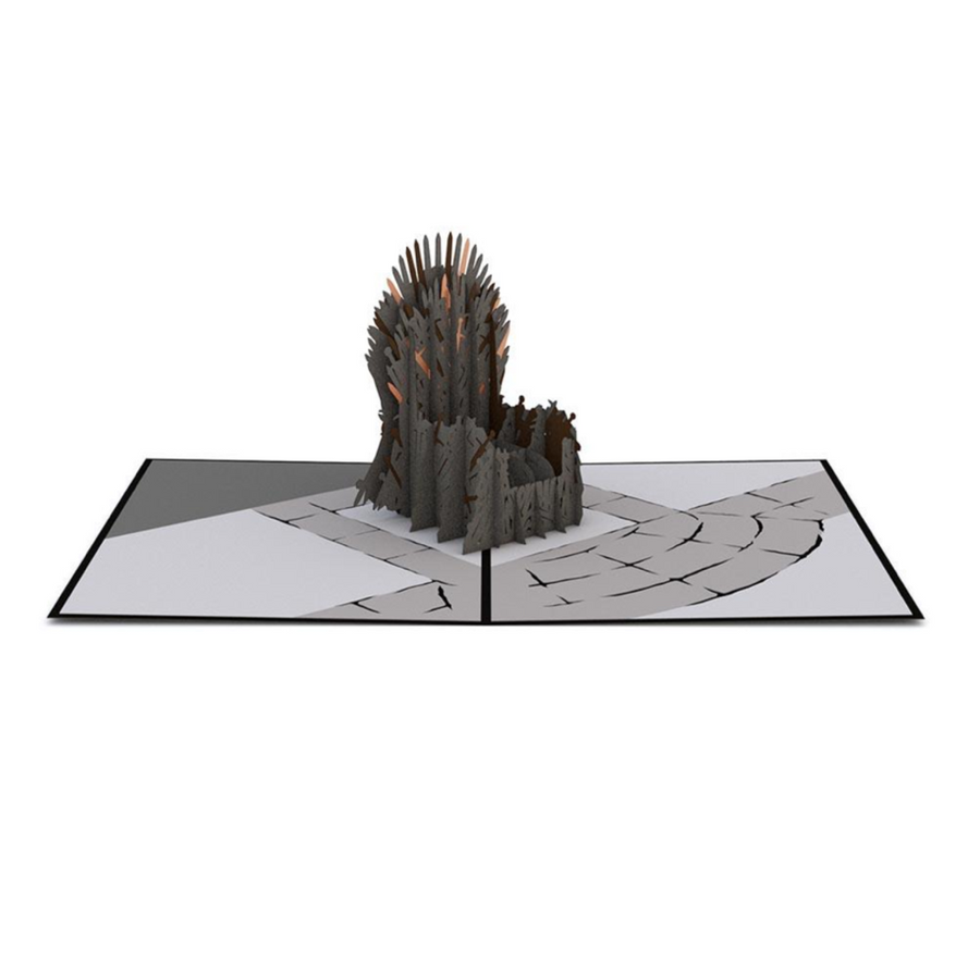 THE IRON THRONE 3D CARD
