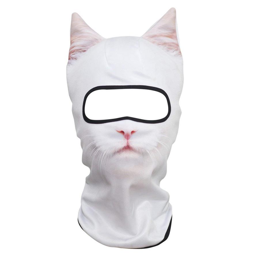 Animal Face Mask 3D (Cat)