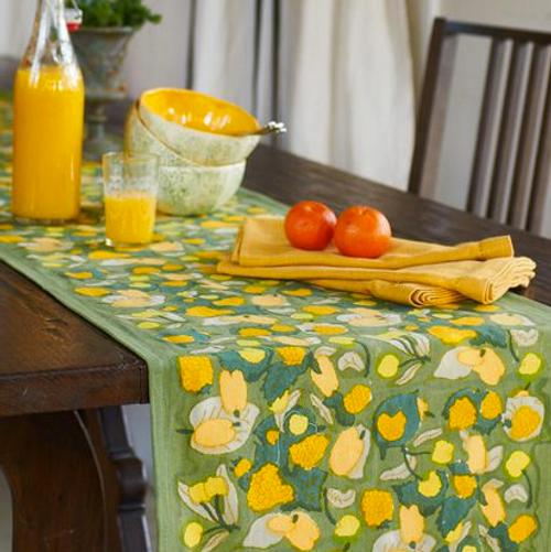 Fruit Yellow Green Runner