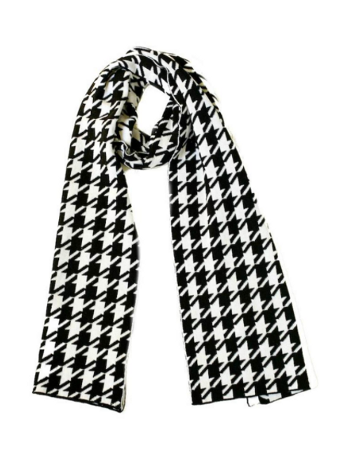 Scarf, Houndstooth