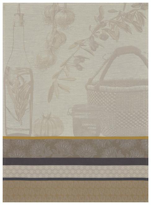Saveurs de Provence Kitchen Towel Beige