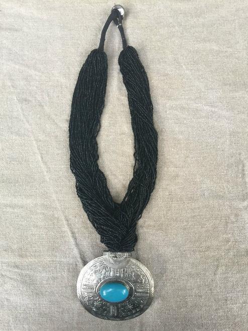 Hammered metal Necklace