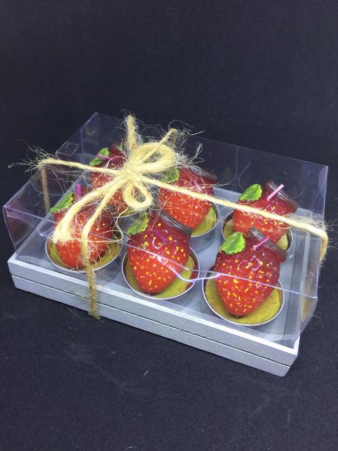 Strawberries Votives