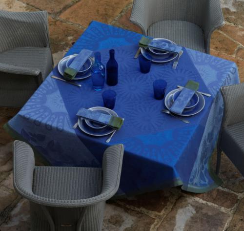 Jardin d'orient - Blue