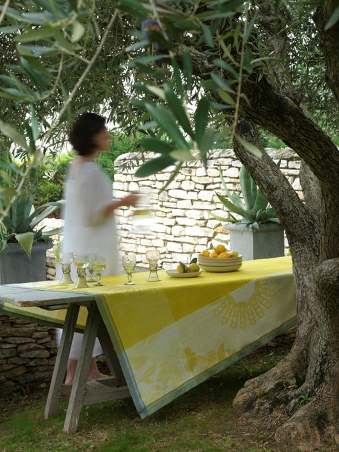 Jardin d'orient - Yellow