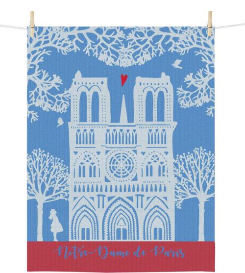 Notre Dame Kitchen Towel
