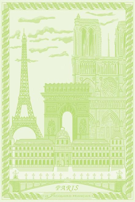 Paris Vert Garden Kitchen Towel