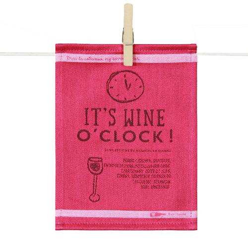 Cocktail Napkins - It's Wine O'clock (set of 6)