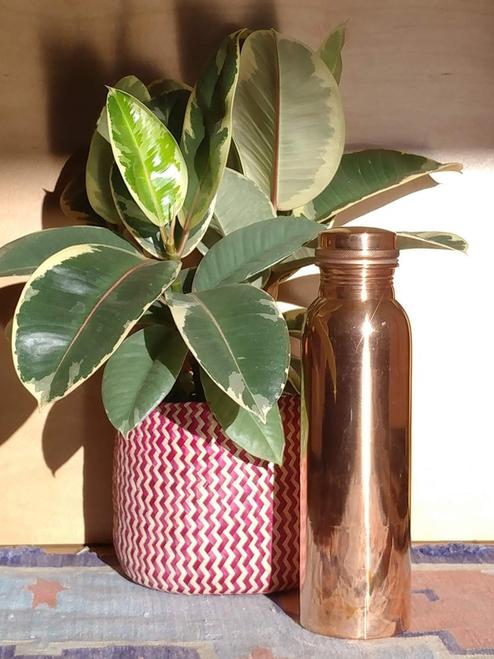 Ayurvedic copper water bottle