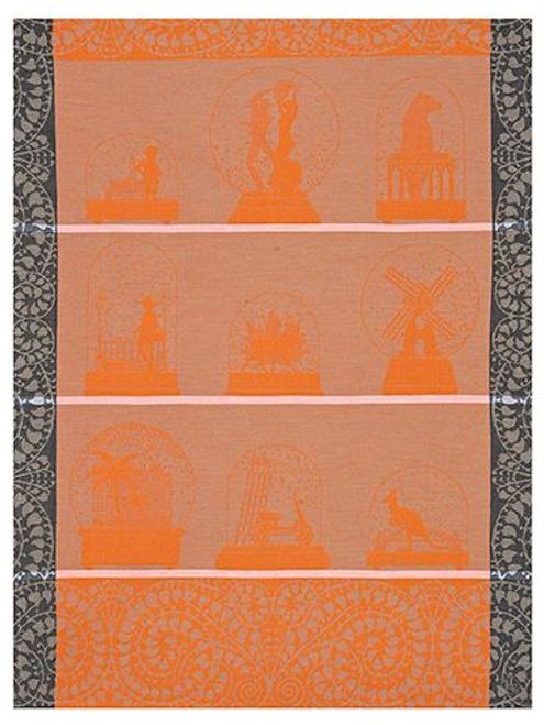Souvenirs Kitchen Towel Orange