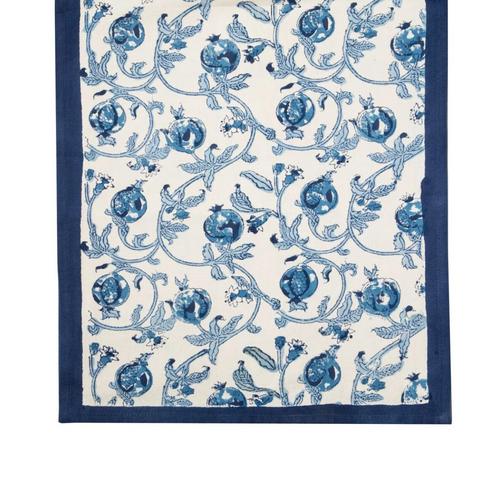Granada Blue Table Runner