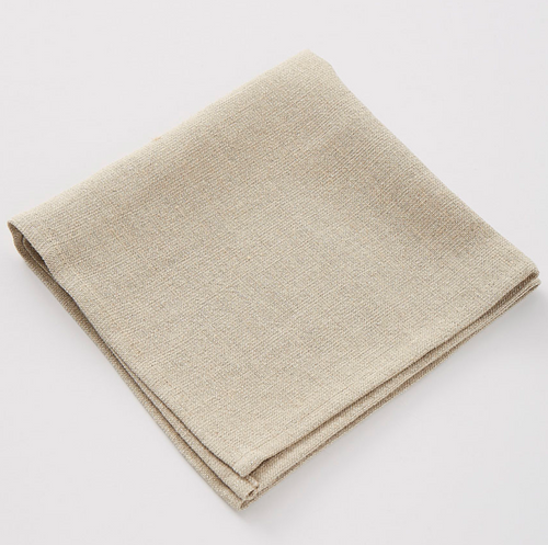 Pepite Gypse Linen Napkins, Set of 6