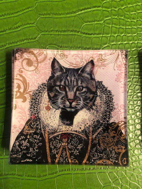 King Cat Plate