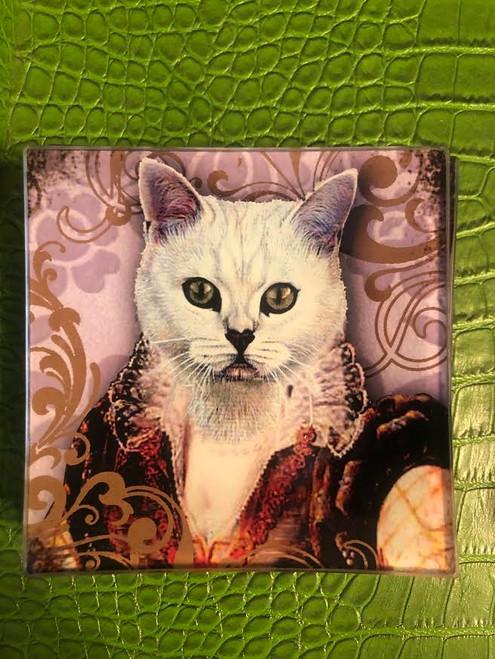 Queen Cat Plate