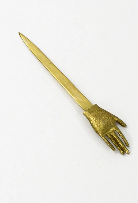 Letter Opener with Hand Detail