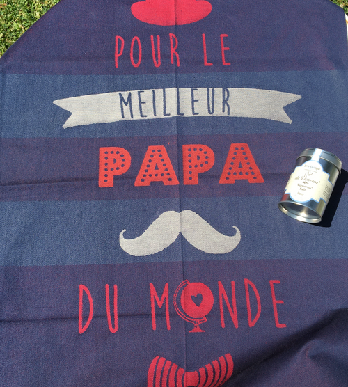 Father's Day Vigneron Wine Salt + Papa Dishtowel