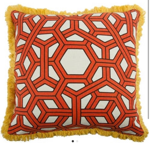 Hexagon Pillow