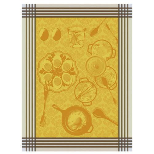 Oeufs Recettes Egg Kitchen Towel