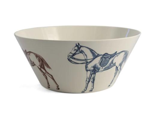 Large bowl, Horse