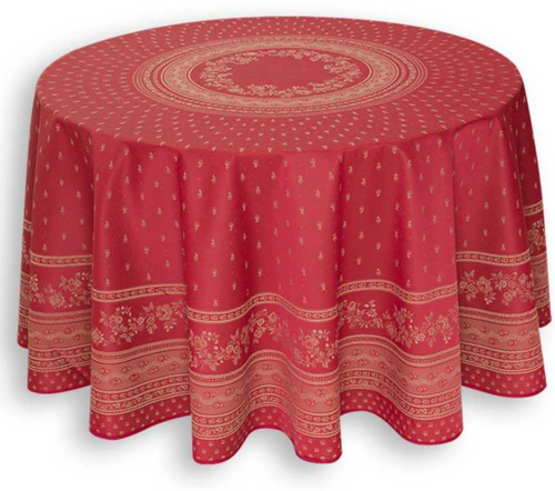 Durance Burgundy Tablecloth