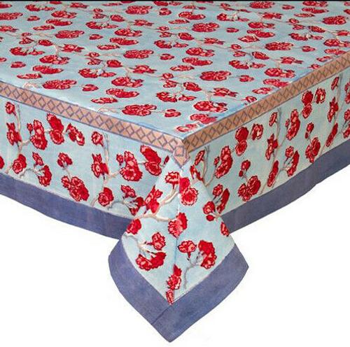 "Cherry Blossom Blue Blush 90"" Round"