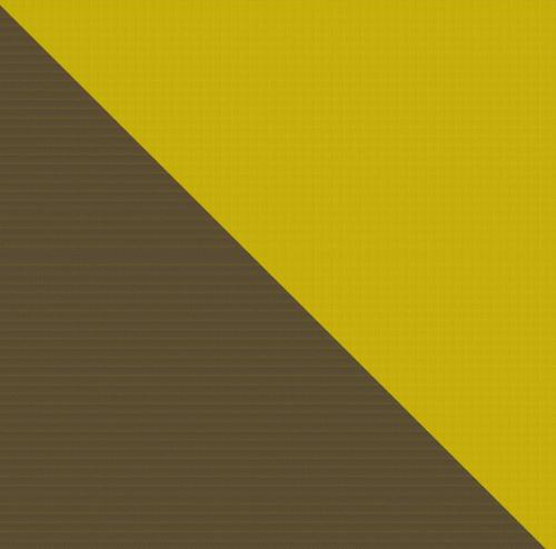 Bicolor Cotton Napkin Safran / Marine, set of 6