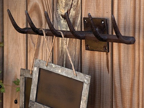 Iron Rake Wall Hook