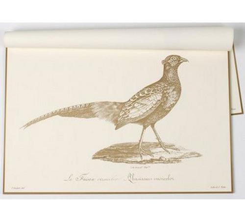 Paper Placemats, Harvest Pheasant