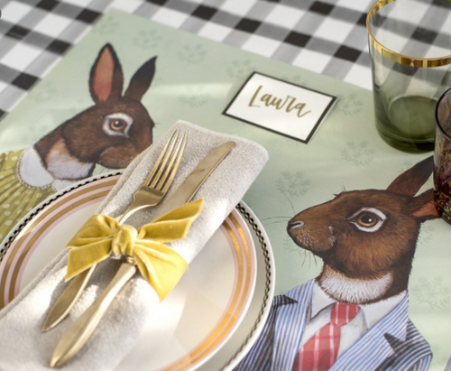 Paper Placemats, Jack and Jill