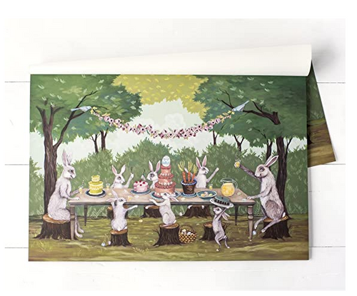 Paper Placemats, Spring Social