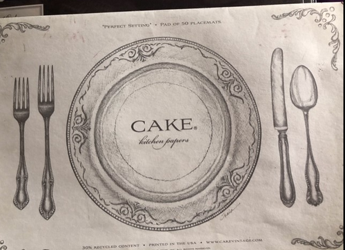 Paper Placemats, Perfect Setting