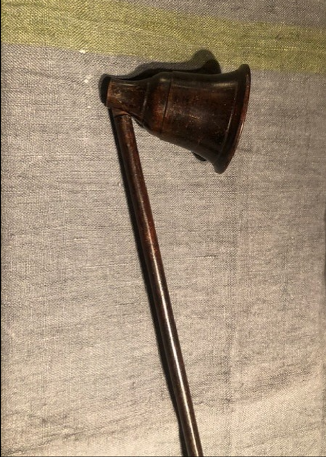 Brass Candle Snuffer, Bell