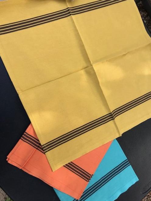 Piano Yellow - Set of 6 Napkins