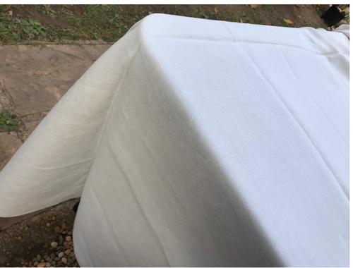 """Linen Glacier Tablecloth 68""""x 126"""""""