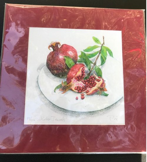 Pomegranate Print, Limited Edition