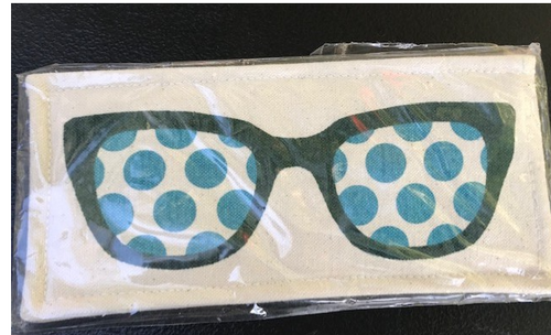 Dotted Sunglass Case