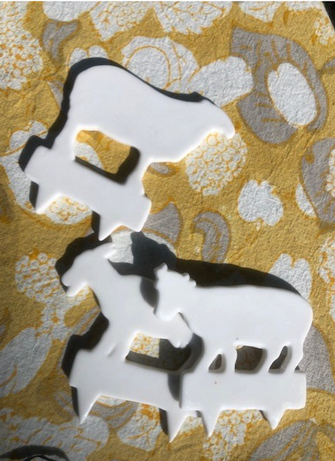 Cheese Markers, set of 3