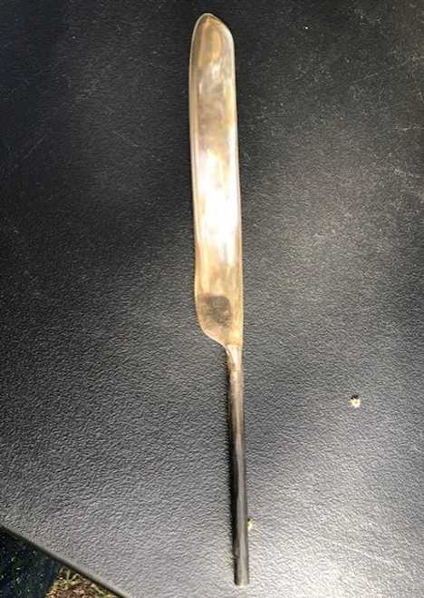 Knife, silver