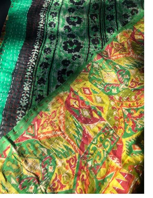 Silk Scarf, Reversible Sides