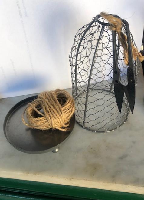 String and Scissors Holder