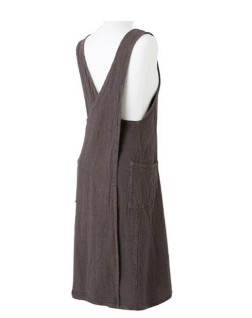 Empreinte Apron / Dress - Grey