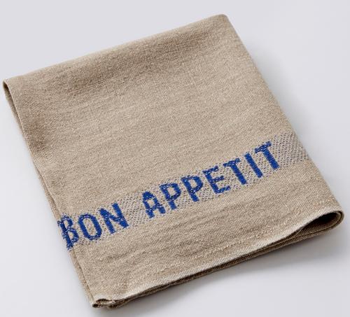 Bon Appetit - Linen/Blue