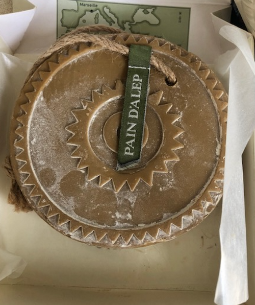 Large Round Shaped Soap - Laurel and Olive Oil