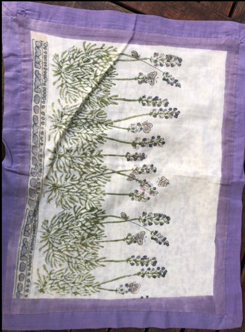 Cotton Pillow Case - Lavender