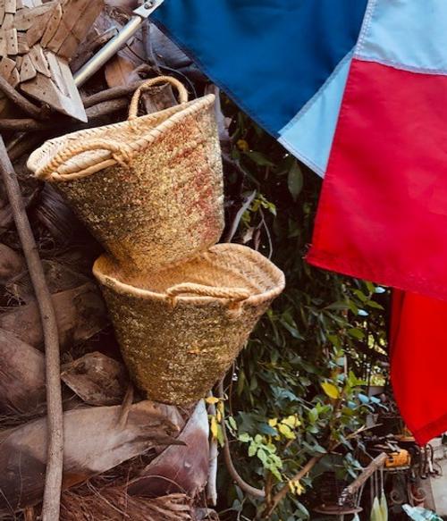 Straw Bag or Basket